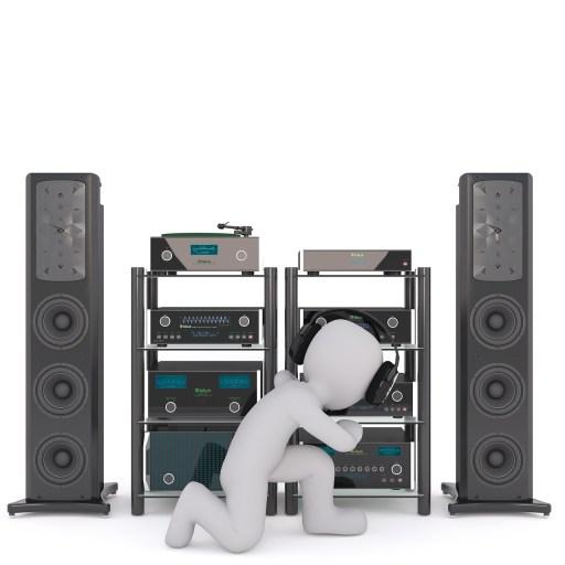 Chaine hifi bruit et musique
