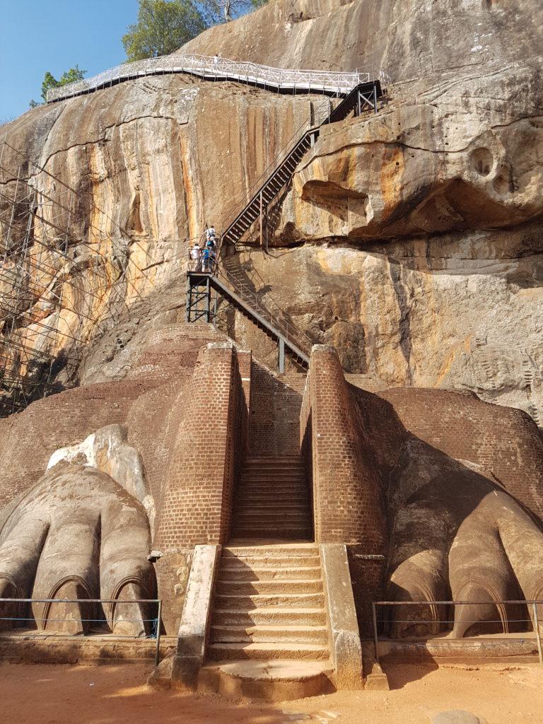 rocher du lion Sigirîya Sri Lanka