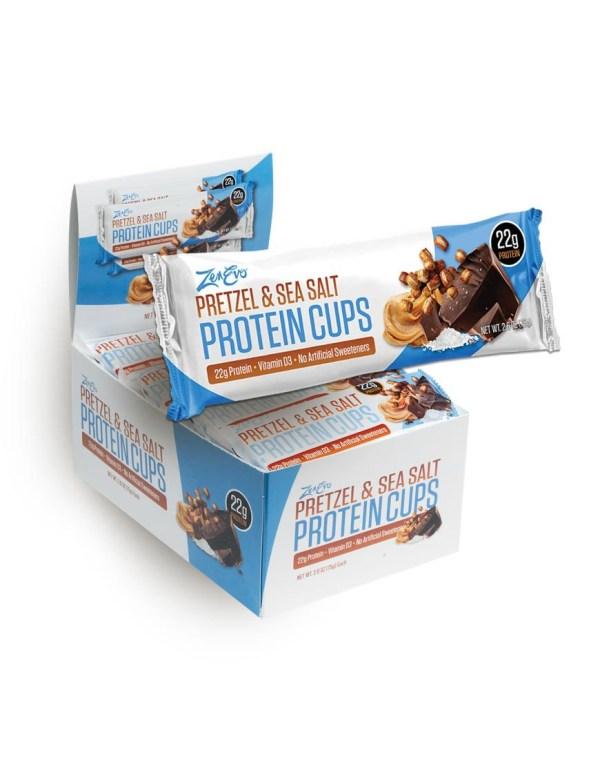 ZenEvo Pretzel Protein Cups