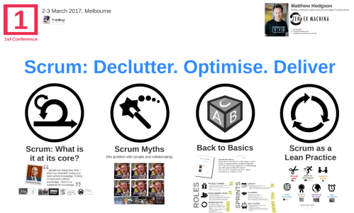 Scrum: Declutter. Optimise. Deliver.