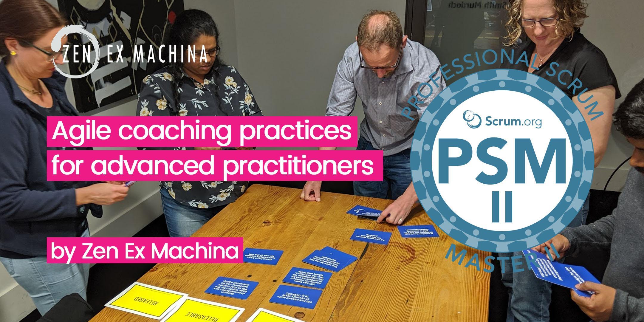 Agile Coach Sydney agile coaching with advanced scrum master class (psm ii