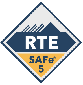 SAFe 5 Course Badges - RTE