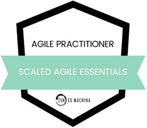 Scaled Agile Essentials Course Badges 2021