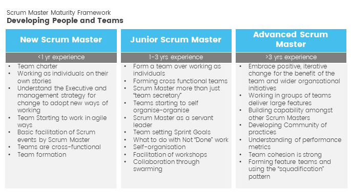 developing people and teams