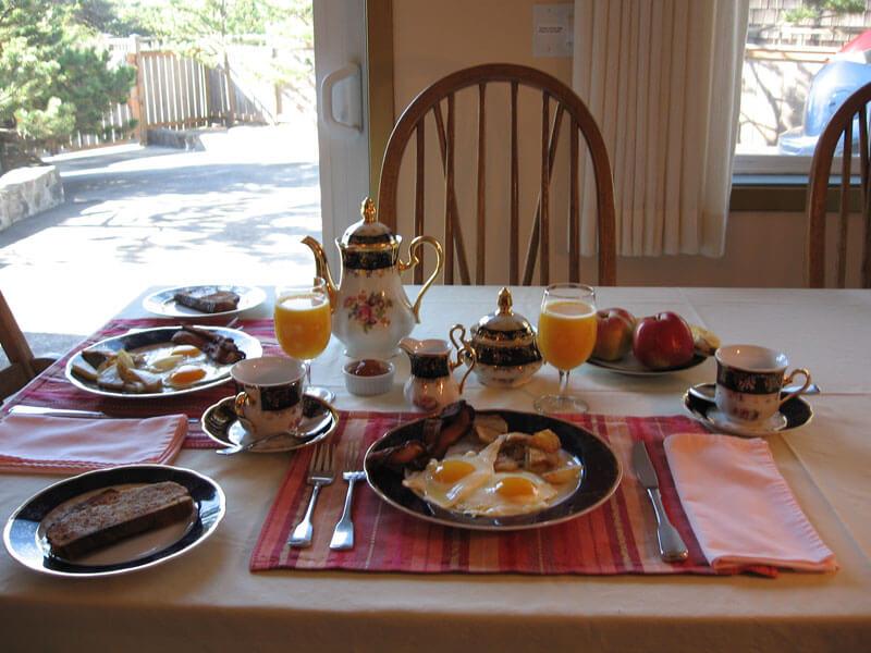Hiroshige Suite Breakfast