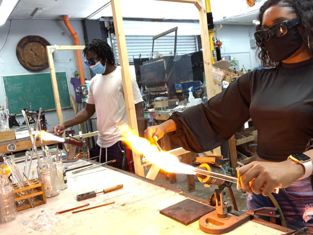 glassblowing workshops