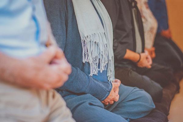 Meditation at Groningen Zen Center