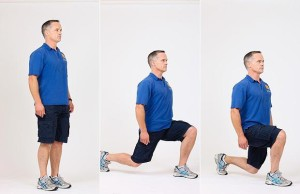 Body Weight Lunge