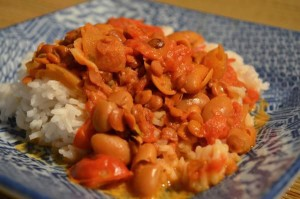 Creamy Tomato and Lentil soup