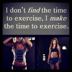 find time to exercise