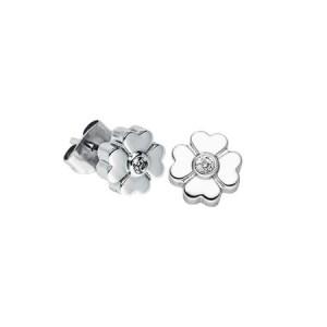 Petites boucles d'oreilles trèfle - couleur 2606