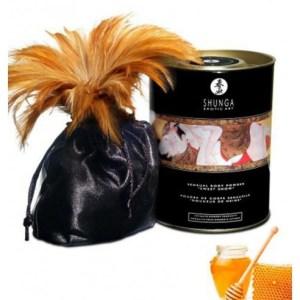 Poudre de massage corporelle comestible miel des nymphes 228grs