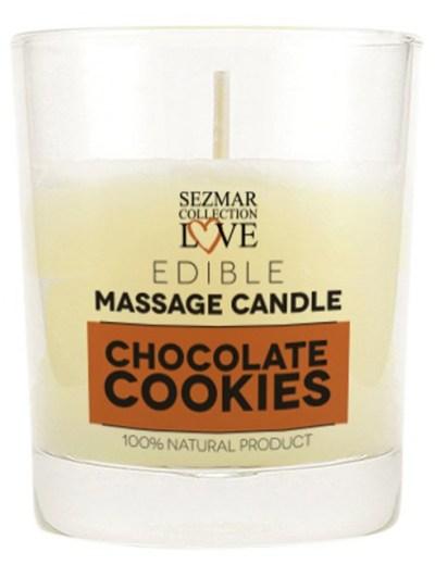 Bougie de massage cookie chocolat 100 ml