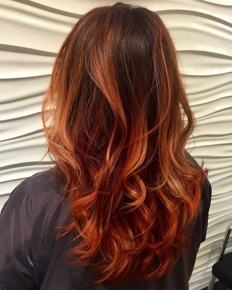 Trend 2016 Ist Kupferbraun Haarfarbe 36 Frisuren