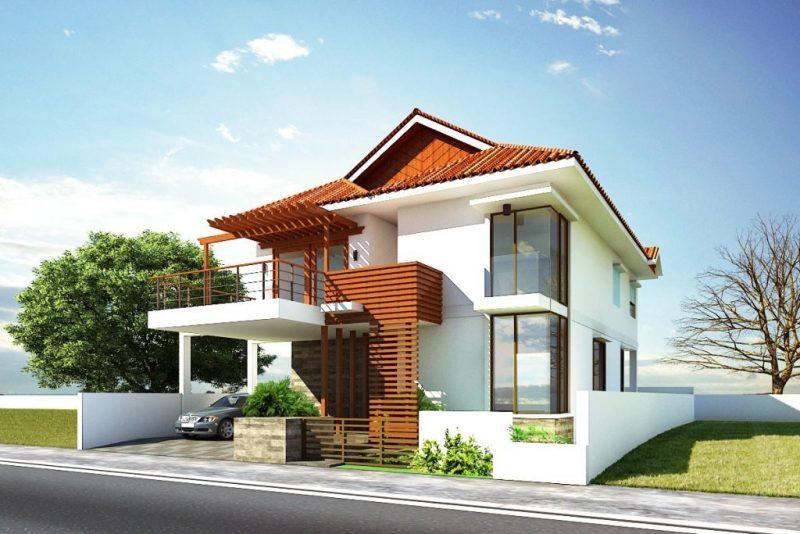 Beispiele Für Fassadenfarben