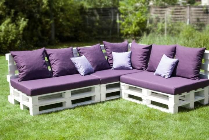 paletten sofa polsterung. Black Bedroom Furniture Sets. Home Design Ideas