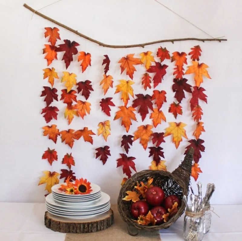 35 Inspirierende Bastelideen Fr Wunderschne Herbstdeko