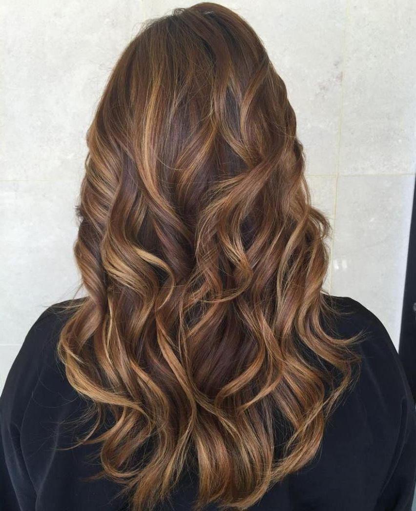 Blonden mit strähnen braun frisur 5 Optionen