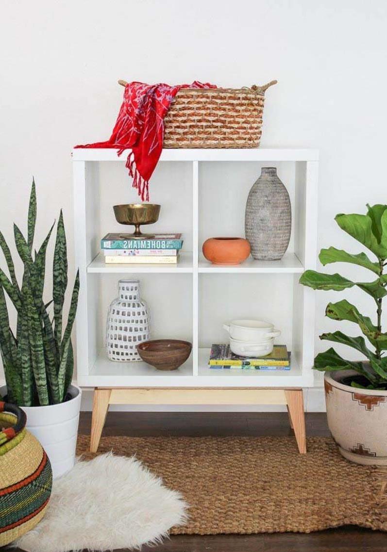 Comment Integrer L Etagere Multifonctionnelle Ikea Kallax Dans Votre Maison Maison Mobilier Zenidees