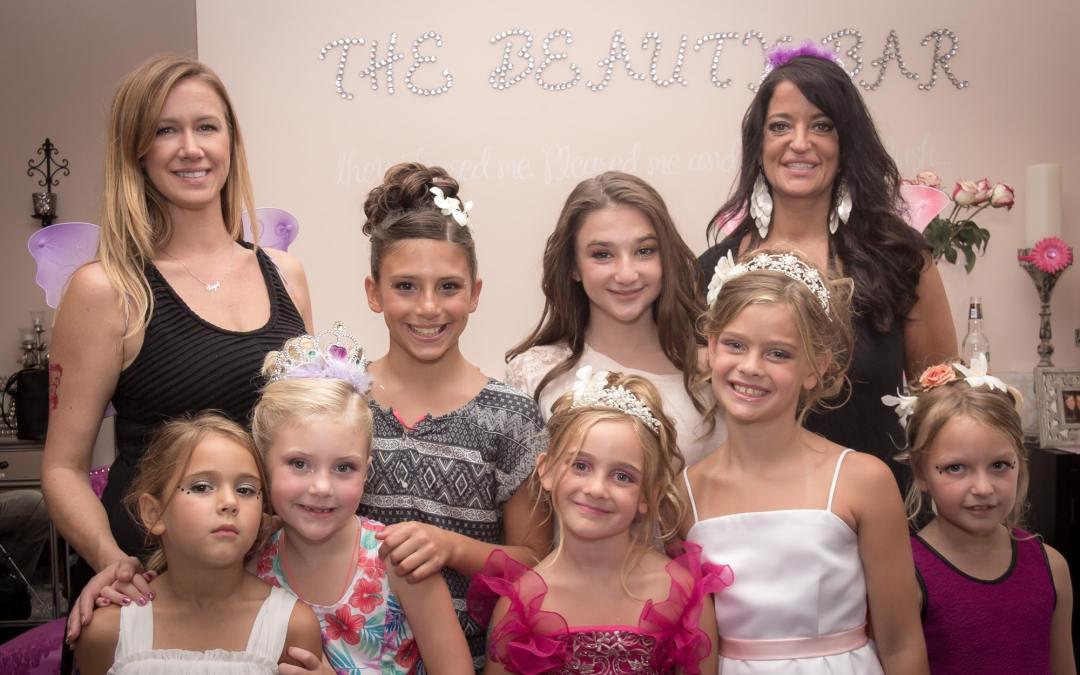 Ava & Mia's Princess Party
