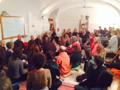 monaci di plum village a roma 30 nov 2014