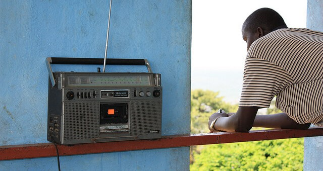 Stephen Martin, Listening to the radio