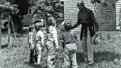 krishnamurti with children
