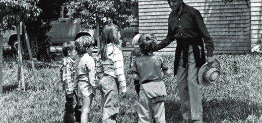 krishnamurti with children
