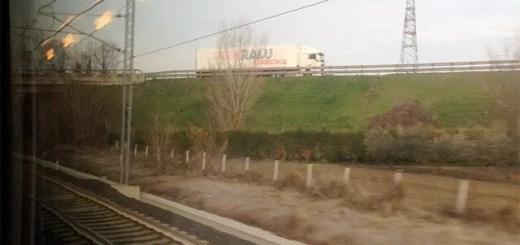meditazione dal finestrino del treno
