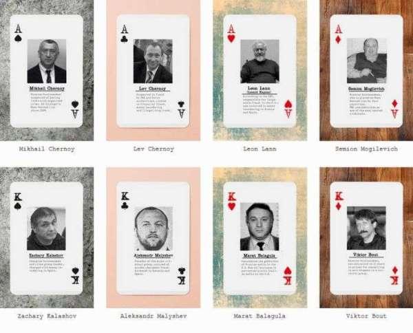 Американці випустили гральні карти Російська мафія (6 фото ...