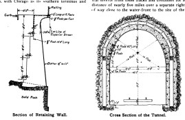 Plans for the tunnel. (Image: Zenith City Press)