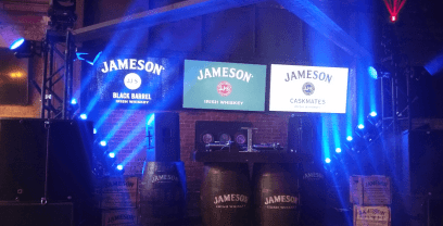 roadshow lighting jameson rental