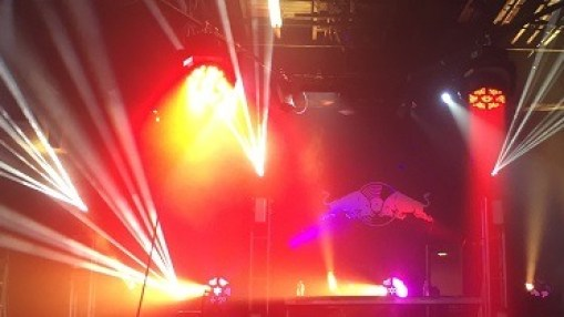 red bull 3 days in miami sound select stage lighting zenith