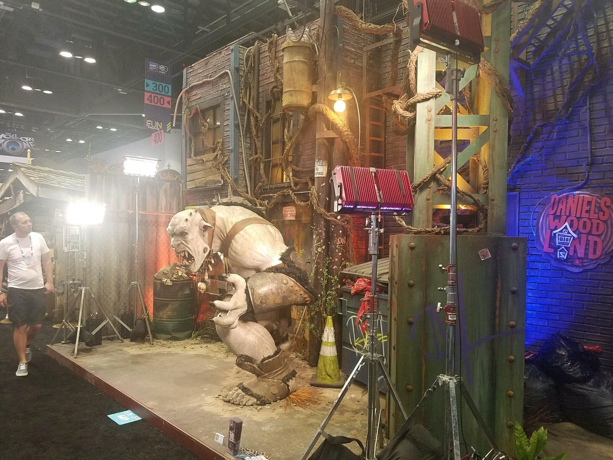 Daniels Wood Land Troll Ogre IAAPA 2018