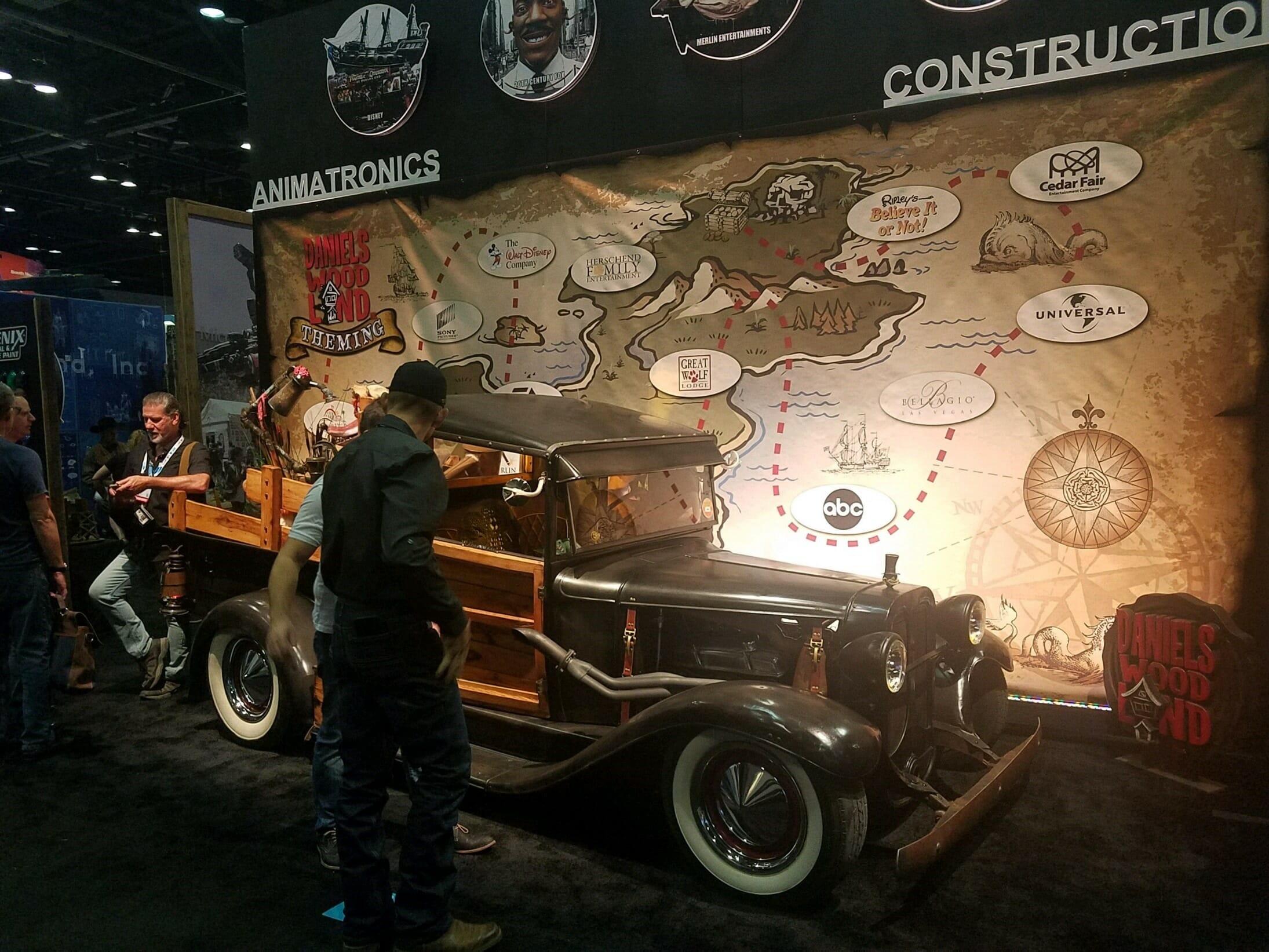 daniels woodland truck iaapa 2018