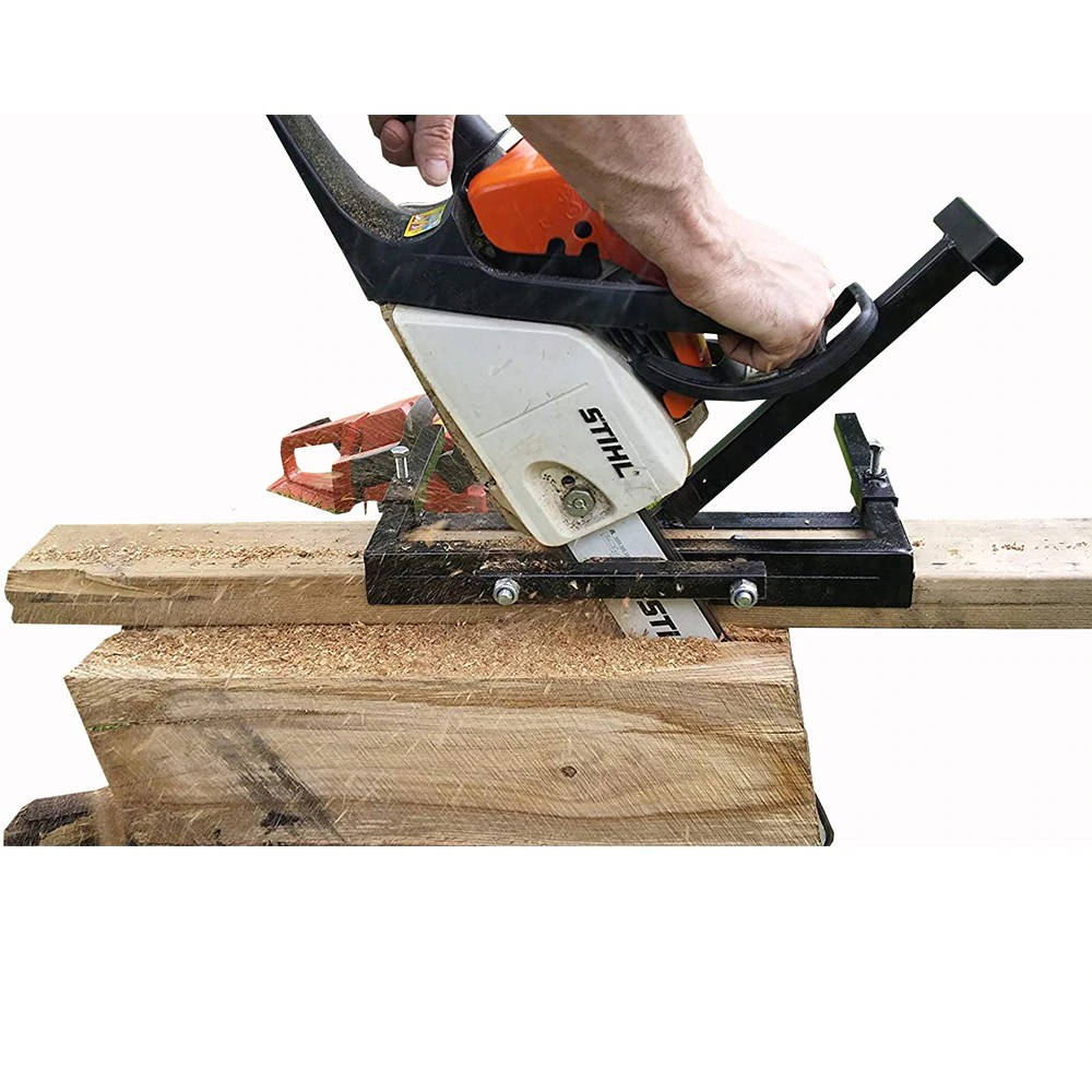 Chainsaw Bar Chainsaw Mill Vertical Cut for Planking & Milling Portable Timber Planks For 14″ Chainsaw Cutting Tool