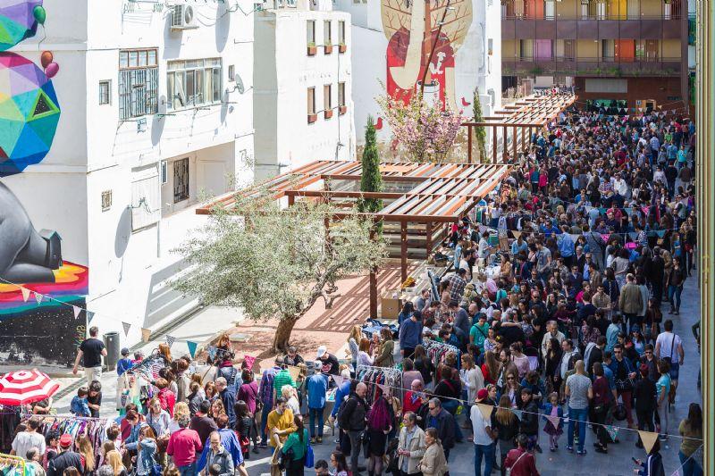 Mercado de las Armas planes de domingo en Zaragoza