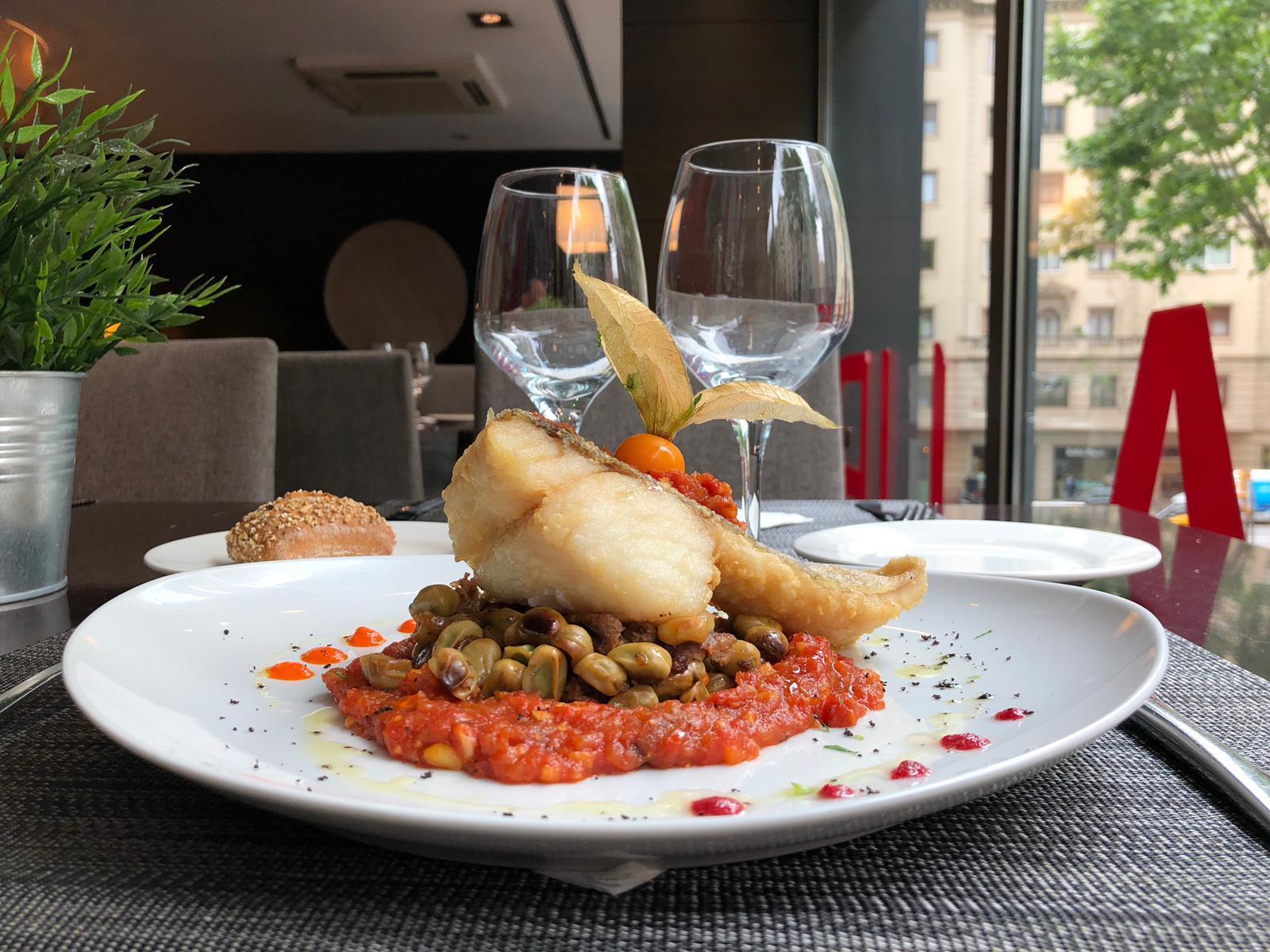 Plato del mes Restaurante Mediterranea