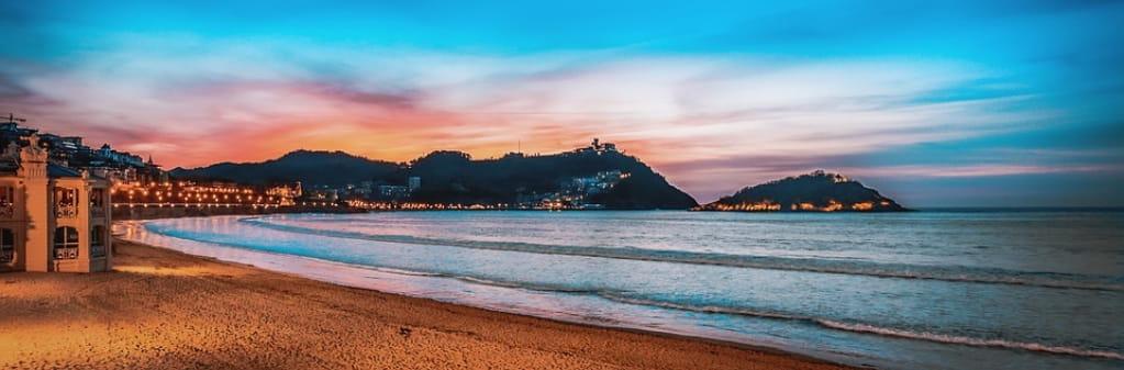 Puesta de Sol en San Sebastián