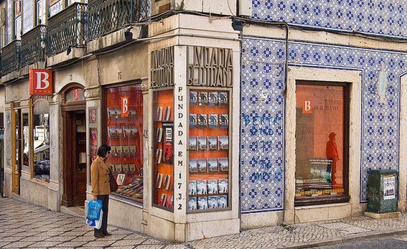 Librería Bertrand en Lisboa