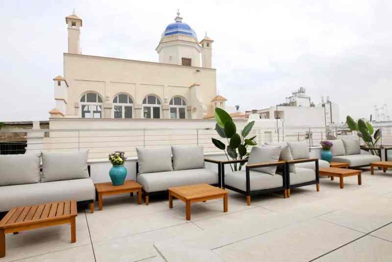 Terraza Solarium GoodNight Apartments Cádiz
