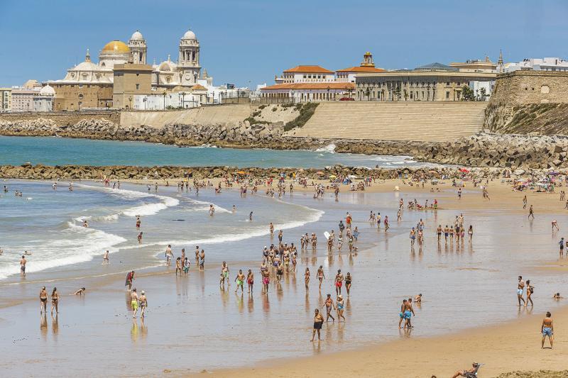 Mirador Santa María del Mar Cádiz