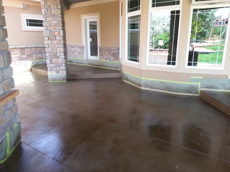epoxy flooring finishes for your patio