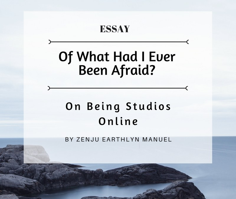 Of What Had I Ever Been Afraid? – Essay