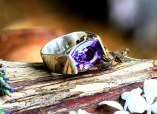 PERFECTIONIST AMETHYST RING - R0352s - SIZE: SMALL