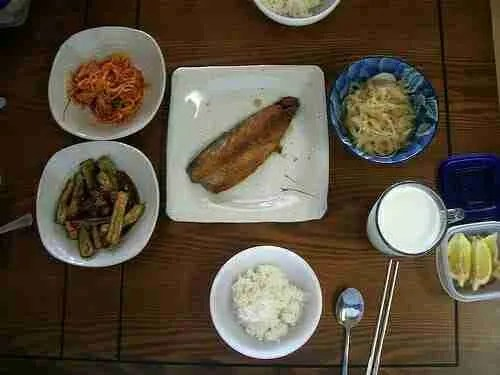 Korean Lunch at Home