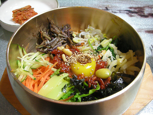 Bibimbap at Seong Mi Dang