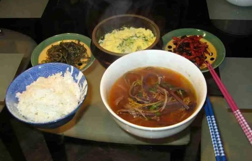 Yukgejang (Korean Shredded Beef Soup)