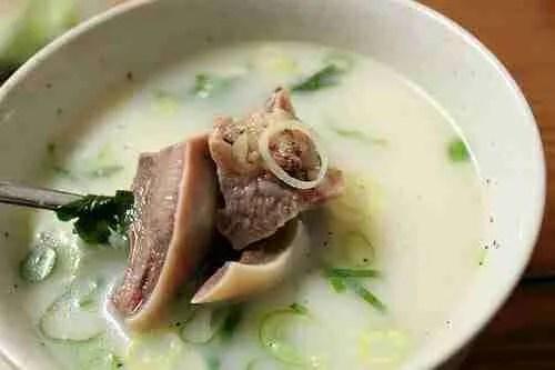 Cow's Head Soup