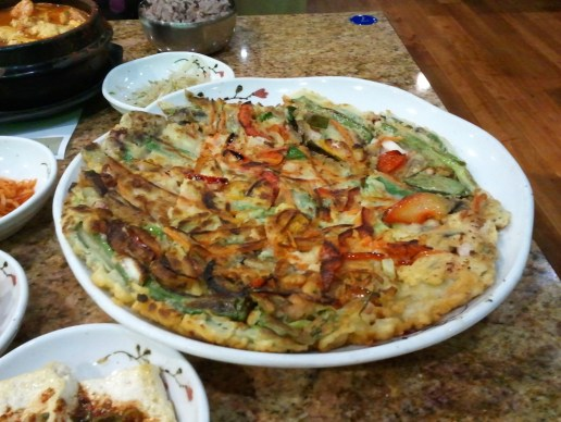 Haemul Pajeon from Myungdong Grill